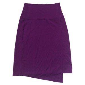 Athleta Seaside Fold High Waist Skirt Purple XS